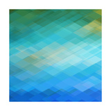 Abstract Blue Background Prints by  epic44