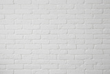 White Brick Wall Photographic Print by  Rangizzz