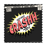 Comic Book Words Effect Prints by  studiohome