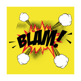 Pop Art Blam Posters by  DAVIDS47