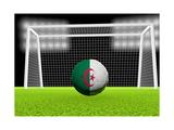 Soccer Algeria Prints by  koufax73