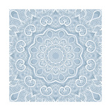 Lace Background: Mandala Prints by  Katyau