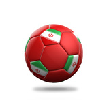 Iran Soccer Ball Posters by  pling