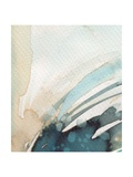 Gray-Blue Background Watercolor Prints by  bruniewska