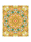 Psychedelic Pattern Print by  StockPhotosArt