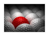 Different Golf Ball Poster by  Ufuk