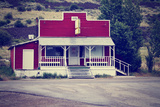 An Old Closed Country Store in a Desolate Town Poster by  graphicphoto