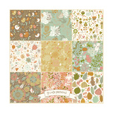 Floral Vintage Patterns with Birds and Butterflies Posters by  smilewithjul