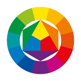 Color Wheel Prints by Peter Hermes Furian