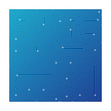 Abstract Blue Background Poster by  adistock