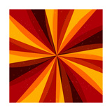 Retro Abstract Background Prints by  Blazena