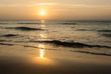 Beach in Sunset Time Poster by  format35