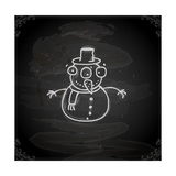 Snowman Prints by Ozerina Anna