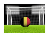 Soccer Belgium Prints by  koufax73