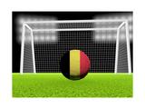 Soccer Belgium Prints by  koufax73