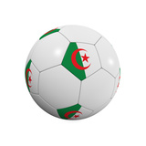 Algerian Soccer Ball Prints by  badboo