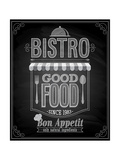 Bistro Poster Chalkboard Posters by  avean