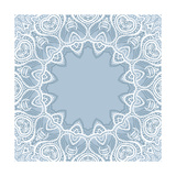 Lace Background: Mandala Art by  Katyau