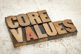 Core Values Prints by  PixelsAway