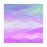Abstract Geometrical Background Premium Giclee Print by  epic44