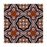 Art Nouveau Geometric Ornamental Vintage Pattern in Violet Prints by Irina QQQ