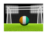 Soccer Ivory Coast Art by  koufax73