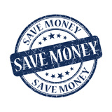 Save Money Stamp Posters by  aquir