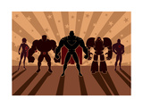 Superhero Team Prints by  Malchev