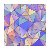 Abstract Triangle Background Posters by  epic44