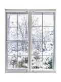 Winter View Through Window Poster par  elenathewise