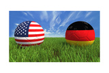 USA-Germany Posters av  mhristov