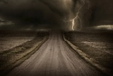 Stormy Road Art par  duallogic