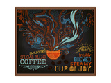 Chalkboard Poster for Coffee Shop Posters by  LanaN.