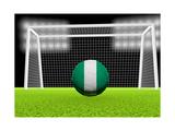 Soccer Nigeria Plakater af koufax73