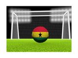Soccer Ghana Prints by  koufax73
