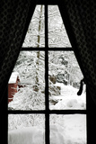 Winter Window Photographic Print by  Karimala
