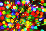 Abstract Bright Bokeh Background Photographic Print by  Dink101