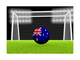 Soccer Australia Posters by  koufax73