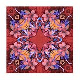 Flowers: Kaleidoscopic Pattern Posters by Zdanchuk Svetlana