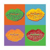Lips Prints by  vadimmmus