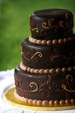 Chocolate Wedding Cake Poster by  mrorange002