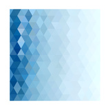 Abstract Blue Background Poster by  epic44
