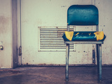 Retro Damaged Chair Photographic Print by Mr Doomits
