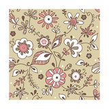 Floral Pattern Posters by  lozas
