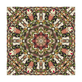 Kaleidoscope Pattern Prints by  natbasil