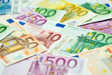 European Currency Money Euro Banknotes Bill Poster by  kadmy