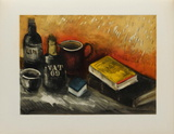 Nature Morte au Whisky, 1945 Collectable Print by Maurice De Vlaminck