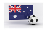 Australia Soccer Prints by  badboo