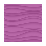 Violet Wavy Poster by Click Bestsellers
