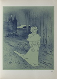 La Chatelaine Collectable Print by Henri de Toulouse-Lautrec
